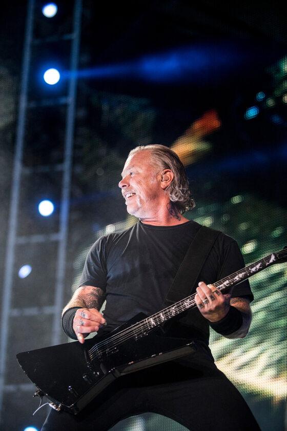 Koncert zespołu Metallica w Warszawie