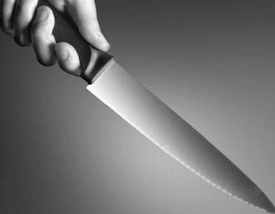 Zaatakował kobietę nożem, bo chciała iść na dyskotekę?