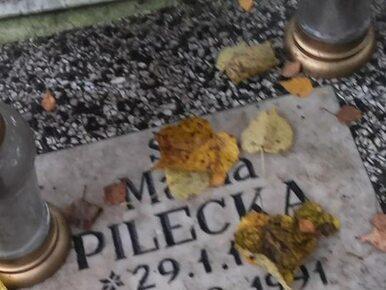 """Grób Marii Pileckiej z tabliczką """"do likwidacji"""". Można temu zapobiec"""