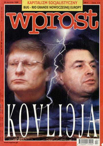 Okładka tygodnika Wprost nr 4/1999 (843)
