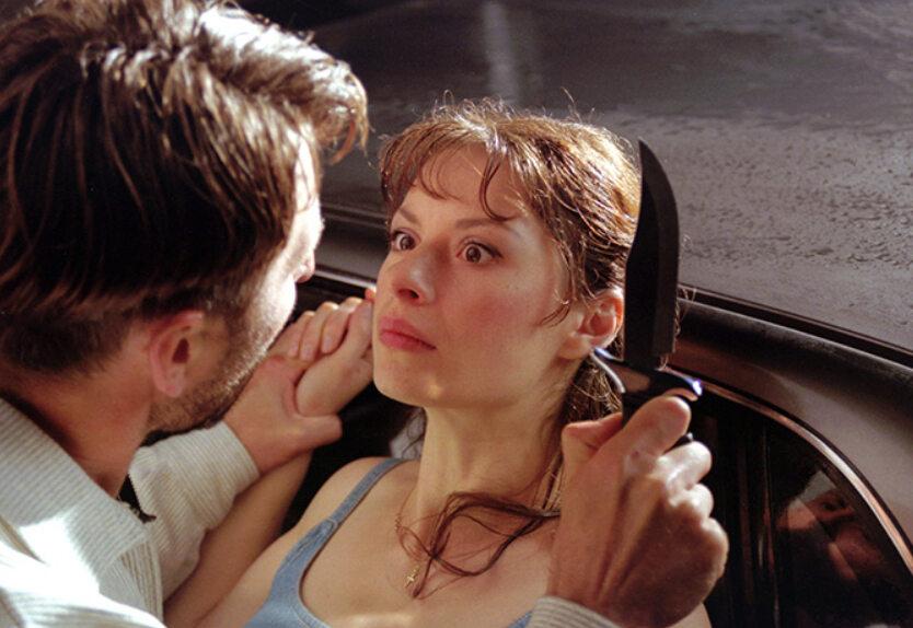 """Irina Łaczina w filmie """"U Pana Boga za piecem"""" (1998)"""
