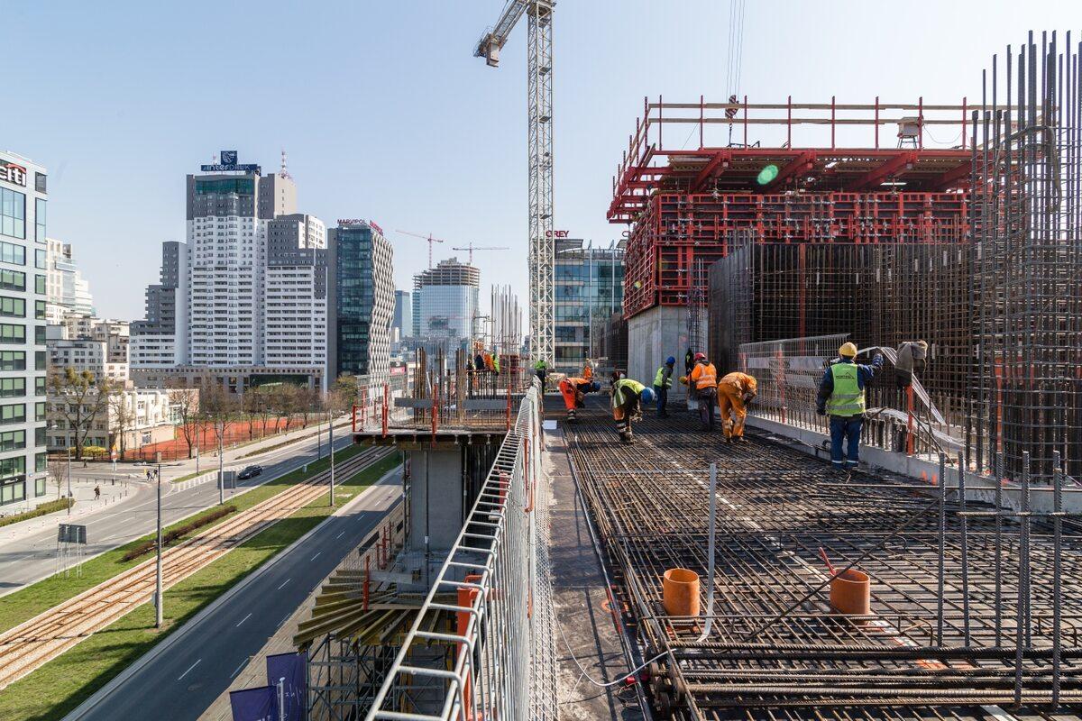 Warsaw UNIT Postępy na budowie Warsaw UNIT