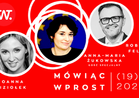 """""""Mówiąc Wprost"""". Żukowska okoalicji Lewicy zPiS: Głosujemy..."""