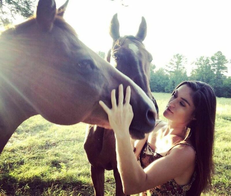 Adri Rachelle i jej zwierzęta