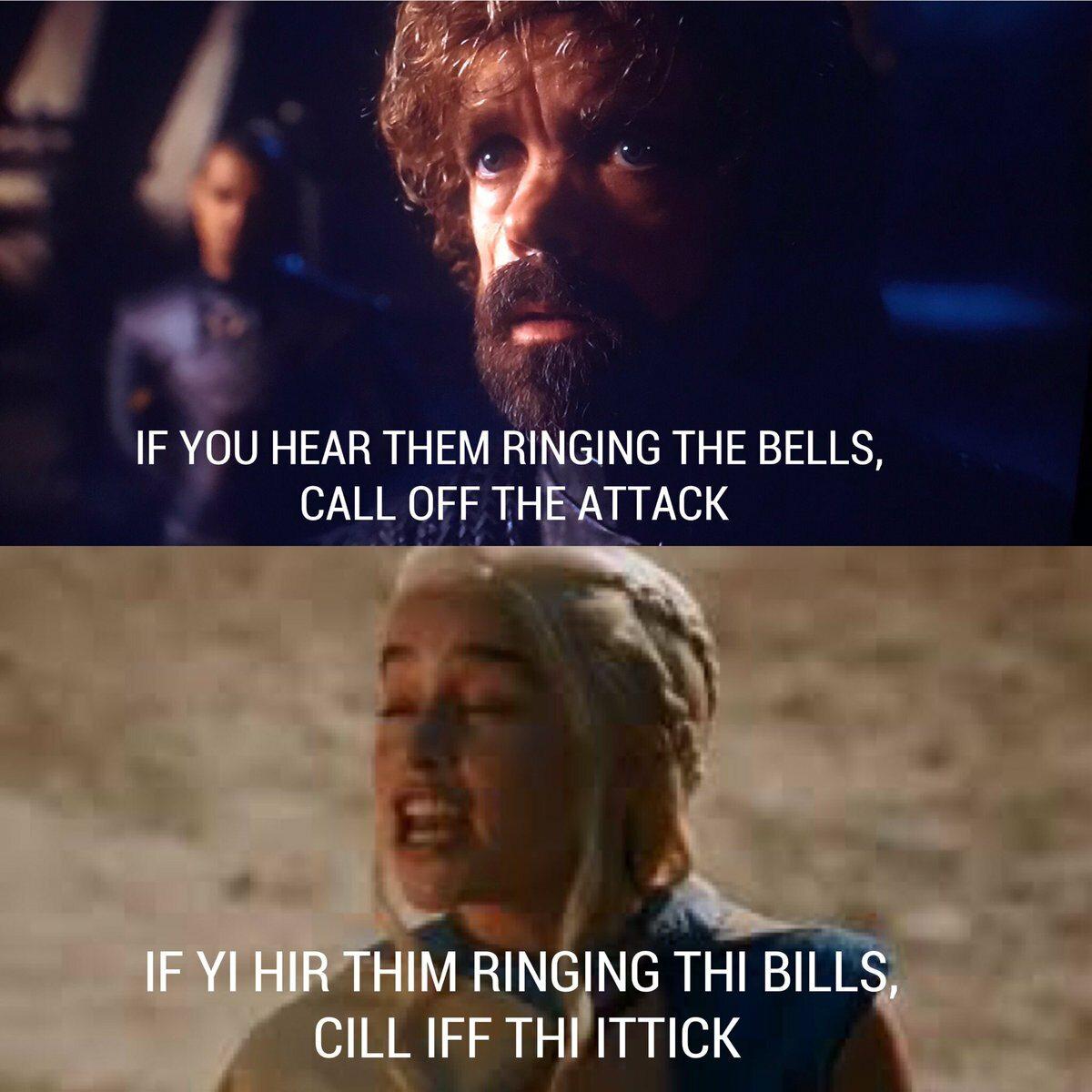 Jeśli usłyszysz, że biją w dzwony, odwołaj atak