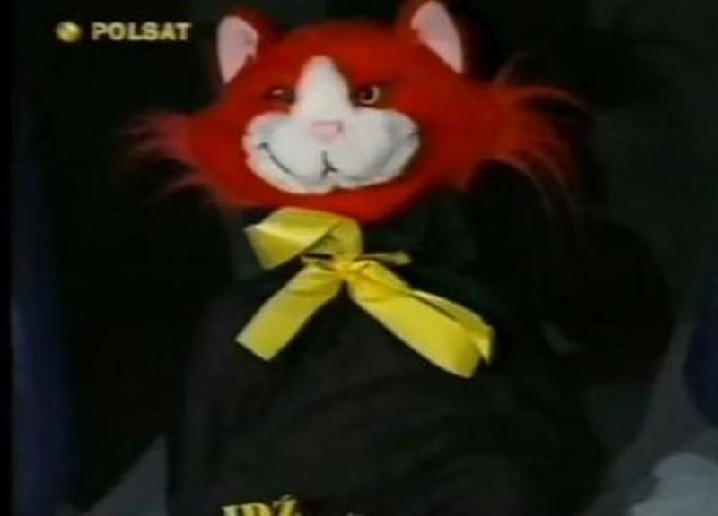 Kot (na zdjęciu) z tego programu nazywał się Zonk.