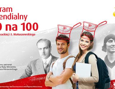 """""""100 na 100"""", Lotto przyzna stypendia 100 studentom"""