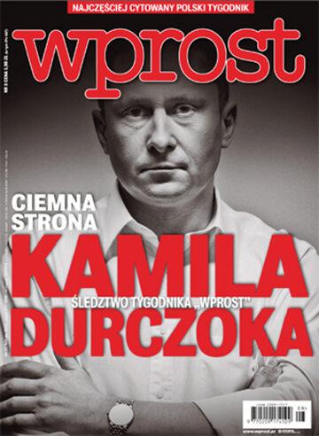 Okładka tygodnika Wprost nr 8/2015 (1667)