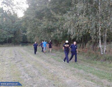 Pobili kibiców przeciwnej drużyny i uciekli. Znaleźli ich w lesie