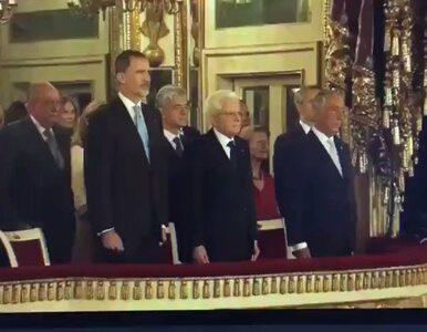 Dyplomatyczna wpadka w obecności króla Hiszpanii. Włosi pomylili...