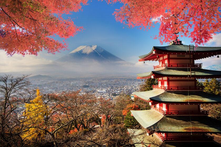 Japonia, góry, zdjęcie ilustracyjne