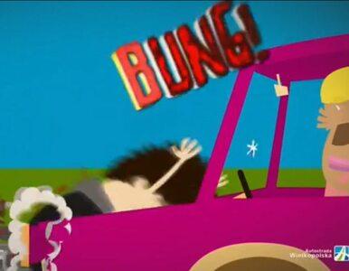 Drastyczne filmiki mają uczyć bezpieczeństwa na autostradzie