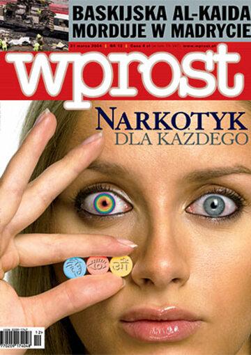 Okładka tygodnika Wprost nr 12/2004 (1112)