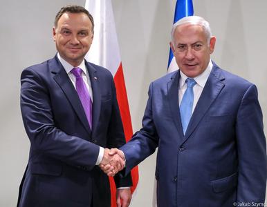 Prezydent Andrzej Duda spotkał się z premierem Izraela