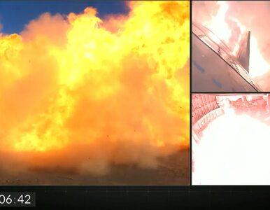Eksplozja rakiety Elona Muska. Zobacz spektakularną katastrofę Starshipa!