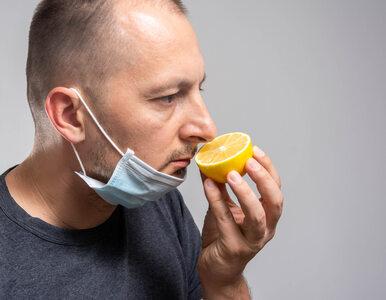 Zaburzenia węchu i smaku to jedno z powikłań COVID-19. Specjalista mówi,...