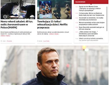 Strona tvp.info nie działa, problemy ze streamami. Onet: W TVP spaliły...