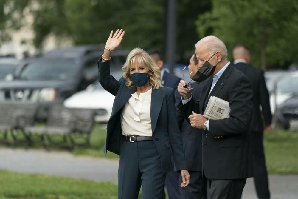 Joe i Jill Bidenowie w Wielkiej Brytanii