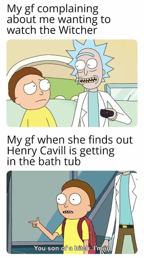 Pamiętna scena kąpieli w balii jako mem