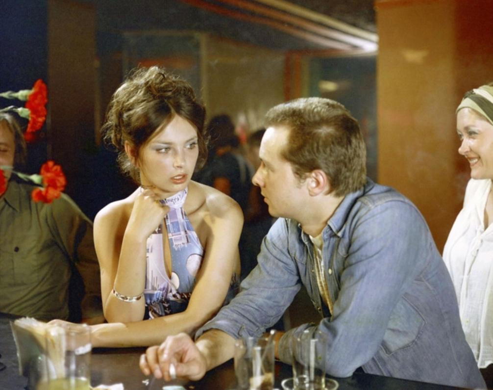 """Anna Dymna i Zbigniew Stroiński w filmie """"Wesela nie będzie"""" (1978)"""