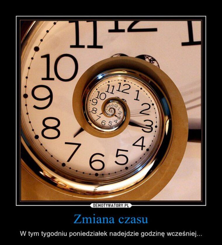 Mem związany ze zmianą czasu