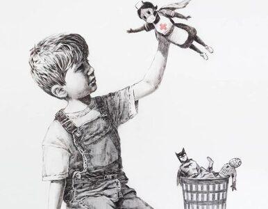 Rekordowa cena za obraz Banksy'ego. Dochód ze sprzedaży powędruje na...