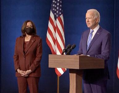 """Joe Biden i Kamala Harris z tytułem """"Człowieka Roku"""" tygodnika """"Time""""...."""
