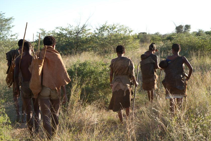 Ludzie w Afryce, zdjęcie ilustracyjne