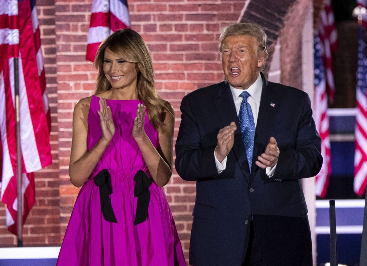 Melania Trump na konwencji Republikanów