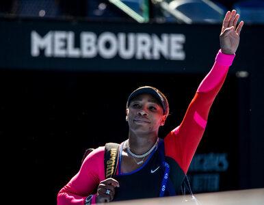 """Serena Williams ze łzami w oczach opuszcza konferencję prasową. """"Gdybym..."""