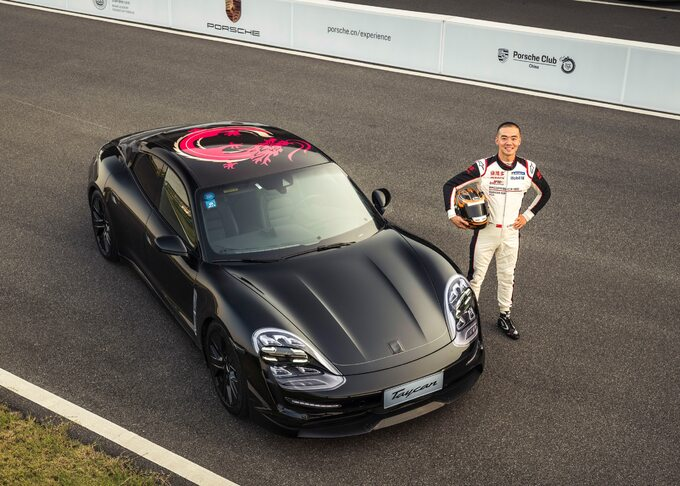 Porsche Taycan wChinach