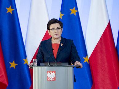 Szydło: Polski rząd będzie głośno upominał się o zasady w UE