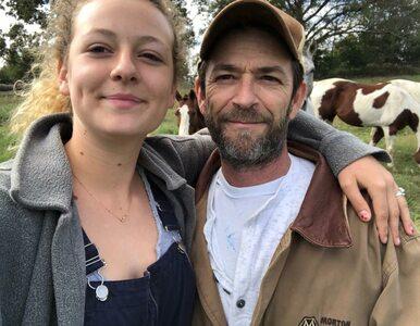 """Luke Perry został pochowany w """"stroju z grzybów"""". Córka aktora wyjawiła..."""