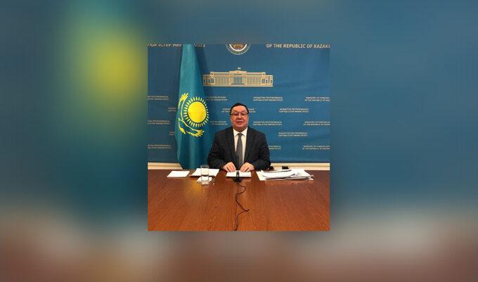 Usen Suleimen, Ambassador-at-large kazachskiego MSZ