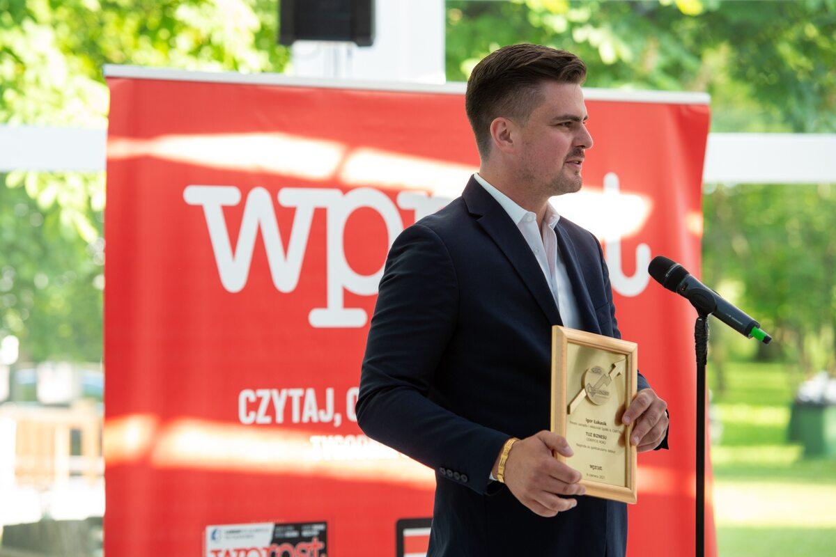 Igor Łukasik, prezes zarządu spółki IŁ Capital