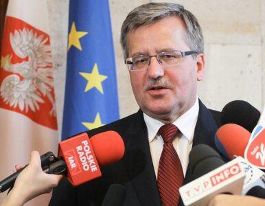 Komorowski chce chronić Polskę przed rakietami. Ustawą