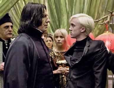 """""""To było przerażające"""". Filmowy Malfoy szczerze o współpracy z Alanem..."""