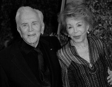 Nie żyje Anne Douglas. Filantropka i żona znanego aktora miała 102 lata