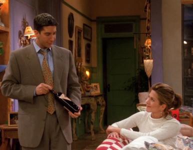 """Quiz z 19. odcinka serialu """"Przyjaciele"""". Kto zostaje postrzelony w..."""