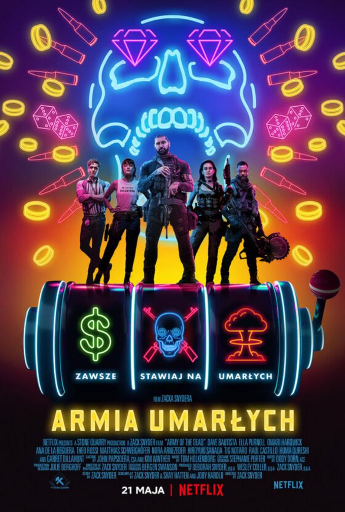 """Plakat filmu """"Armia umarłych"""""""