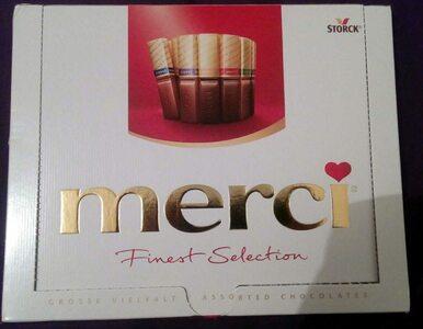 Klasyczne smaki czekoladek merci