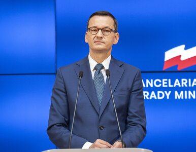 """Premier Morawiecki promuje film 12-latka. """"Gabriel poprosił mnie o łapkę..."""