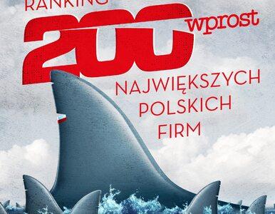 """W tym tygodniu ranking 200 największych polskich firm. """"Zakupy w..."""