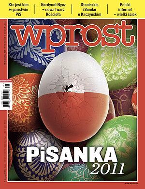 Okładka tygodnika Wprost nr 16/2011 (1471)