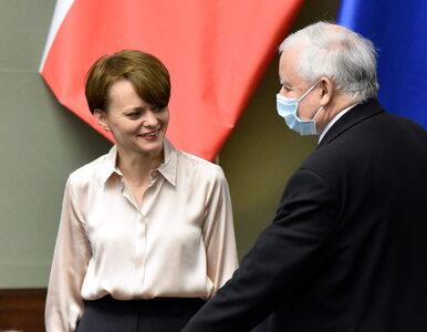 Emilewicz chciała się wkupić w łaski Kaczyńskiego. Grozi jej zawieszenie...