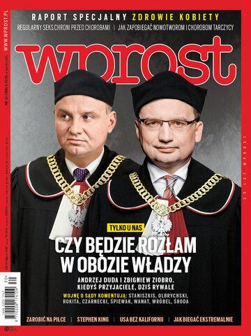 Okładka tygodnika Wprost nr 30/2017 (1796)