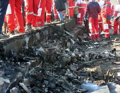Katastrofa samolotu w Teheranie. Podano narodowość 176 ofiar