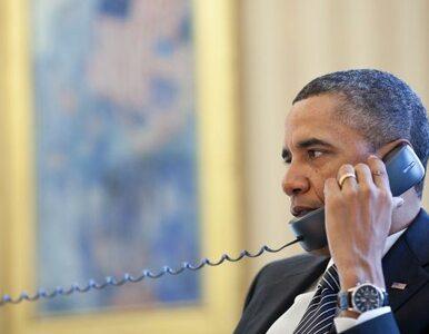 """Obama rozmawiał z prezydentem Iranu. """"Zapewnił, że nie budują broni..."""