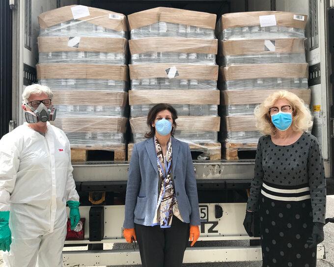 Polfa Tarchomin przekazała 80 tys. litrów płynów dodezynfekcji szpitalom, stacjom pogotowia ratunkowego iinstytucjom społecznym