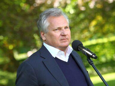 """Kwaśniewski o dymisjach w rządzie i """"kopach w górę"""": Macierewicz mógłby..."""